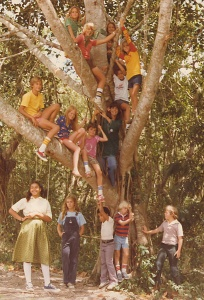 The Author's first 6-12 class, St. Croix, US Virgin Islands, 1977