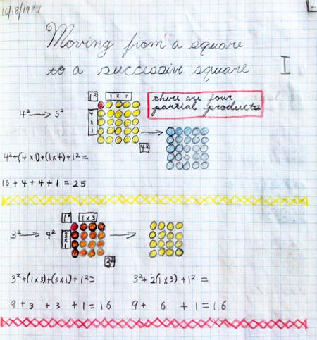 blog math journal
