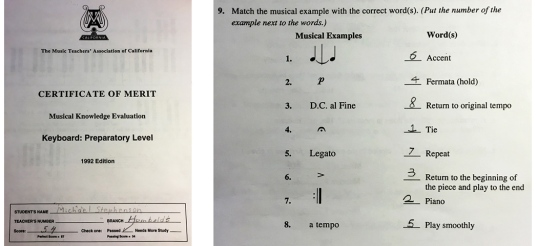 0 music test